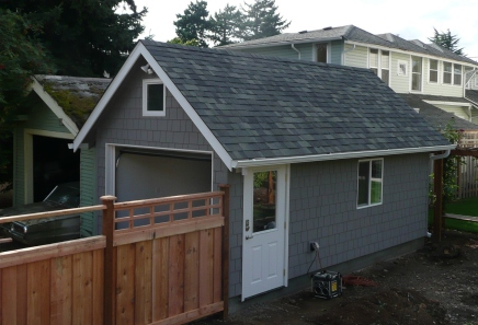 Cedar Shingle Siding to match home