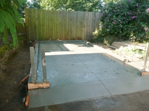 Quality garages start with a Quality Foundation