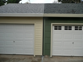 Separation of Twin Garages