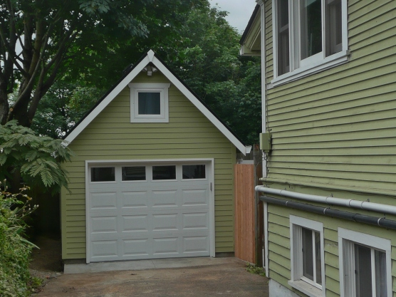 Standard Gable with HardiPlank siding on NE $0th