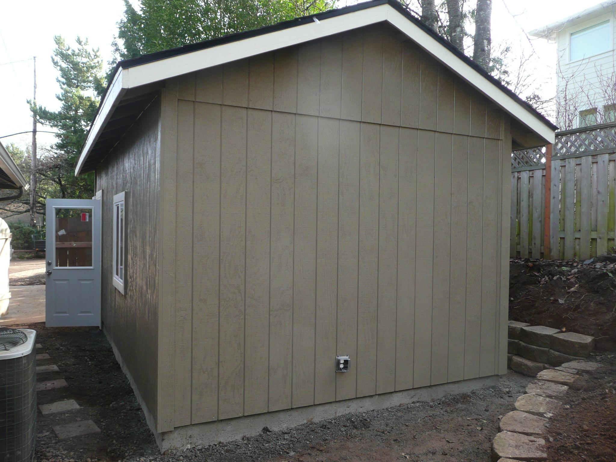 Hardi Plank Siding >> Portland Garage Builders